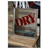 Molson Dry Mirror 16.25 x 18.5
