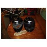 2 Motorcycle Helmets size L & S