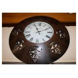Metal Clock 23.5D