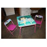 Kids Table & 2 Chairs