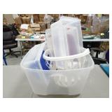 Misc Plastic Containers/Totes