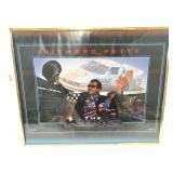 Framed Richard Petty Poster - 20 x 16