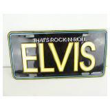 Elvis Presley Novelty License Plate