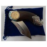 Sacajawea Coin Pocket Knife