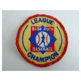 Babe Ruth Baseball League Champion Patch