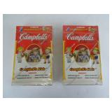 Campbells Kids  Trading Cards - 2 Unopened Boxes