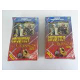 Country Classics  Trading Cards - 2 Unopened
