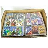 221 Pages of assorted non sports cards -