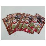Lot of Ten Brett Favre Rookie Cards