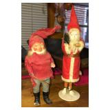 Antique Santa Candy Containers