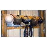 Miller Thunderbolt welder with leads and helmets