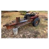 Shop built Heavy Duty log splitter. Works and