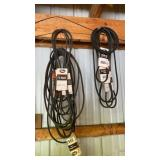 Miscellaneous electrical, steel tank, v belts.