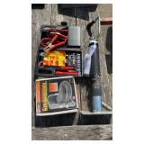 Lot with Pintle, trailer jack, and emergency kit