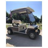 2012 club car electric golf cart, with charger