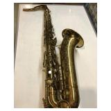 Collectible Martin saxophone in the original