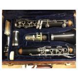 M.Lacroix clarinet with original case, mfg. Paris