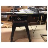"Craftsman 10"" floor model table saw"