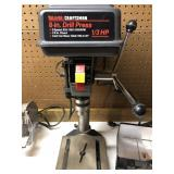 "Craftsman 8"" bench top drill press"