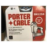 "Porter-Cable 1-1/4"" Brad nailer kit, new"