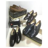 4 shoes in original boxes Loafers sz 11.5
