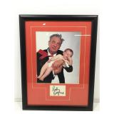 Rodney Dangerfield Photo and Autograph. Framed