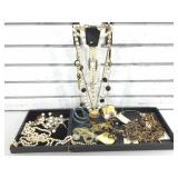 Costume jewelry. Tray not included