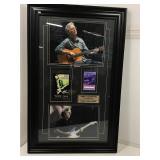Eric Clapton Framed Backstage passes. 2004 & 2006