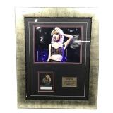 Taylor Swift backstage press pass 2006 2007 tour.