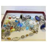 Assorted Jewelry - Some Sterling Silver