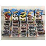 30 Assorted NIB Hot-Wheels - see pictures
