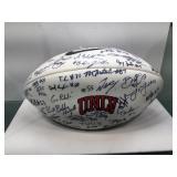 Unlv autographed football