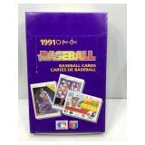 1991 o-pee-chee baseball sealed box