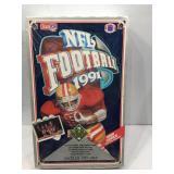 1991 upper deck football sealed box