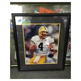 Brett farve autographed framed 16x20 picture