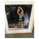 Larry bird framed 16x20 autographed picture