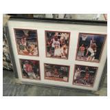 Framed Michael Jordan picture