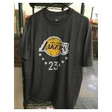 Los Angeles lakers lebron james shirt xlarge