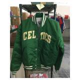 Boston celtics jacket sz xlarge