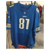Calvin johnson sz 60 lions jersey