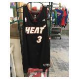 Dwayne wade Miami heat jersey sz xxlarge shows