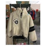 Vintage raiders jacket new size small ladies