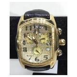 "IceLink ""phat ice"". Swiss watch , Diamond bezel,"