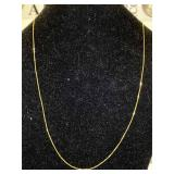 "14k Gold Necklace 16 """