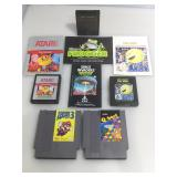 Atari/Nintendo games some with manuals