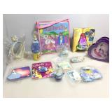 Collection of Cinderella items.