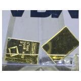 999 Gold APMEX 2 grams total