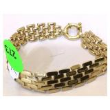 "14K Gold Bracelet 7 "" 12.3g"