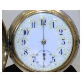 hamilton pocket Watch 1907 17 jewel working