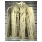 Saga Blue Fox fur petty coat sz med